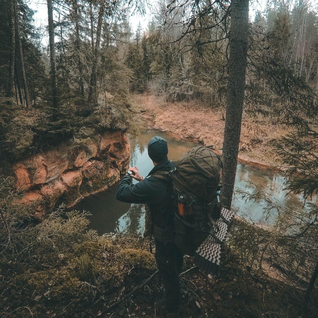 SUUNTO TRAVERSE ALPHA un ROLISS Rauņa Upes Krastā - SUUNTOPULSKTENI.LV