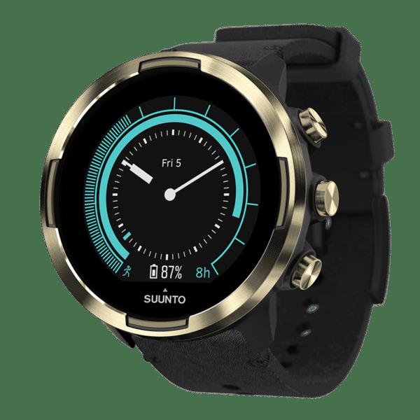 Suunto 9 Baro Gold - Sporta pulkstenis ar ādas siksniņu - suuntopulksteni.lv