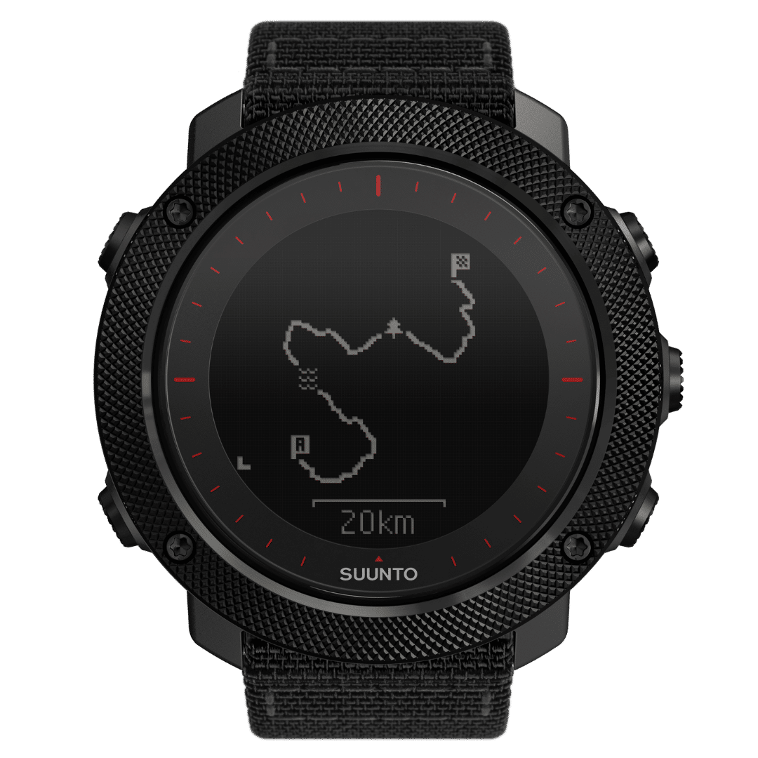 Suunto Traverse Alpha Black Red GPS pulkstenis - SUUNTOPULKSTENI.LV