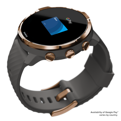 Suunto 7 Graphite Copper Smart pulkstenis