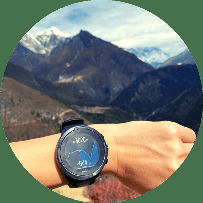 suunto 9 baro black - augstuma profila pārskats Nepālā