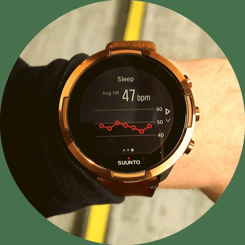 suunto 9 baro copper pulsa pārskats miegā