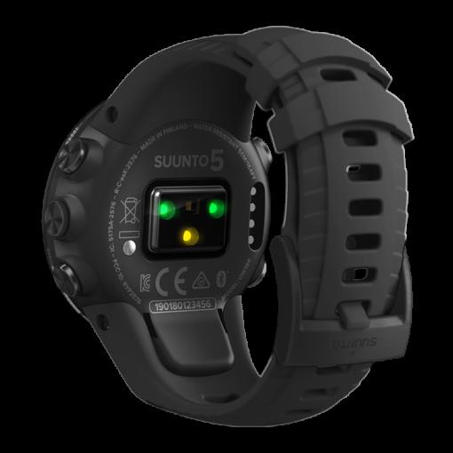 Suunto 5 All Black pulsometrs - suunto pulksteņi