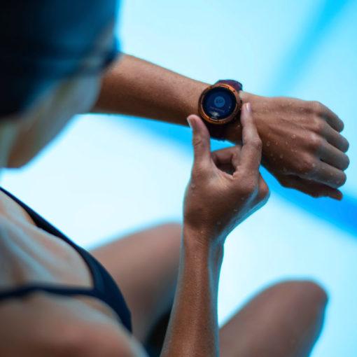 sieviešu sporta pulkstenis suunto 5 burgundy copper pulsometrs - suunto pulksteņi