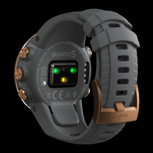 suunto 5 graphite copper pulsometrs - suunto pulksteņi