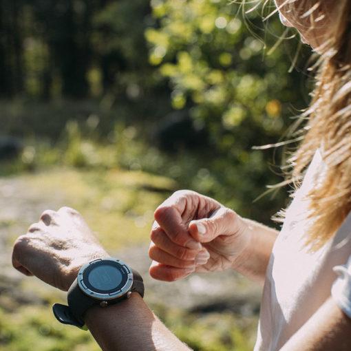 suunto 5 graphite steel sieviešu sporta pulkstenis
