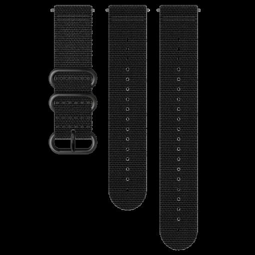 suunto pulksteņa neilona siksniņa explore - all black- suunto rezerves daļas