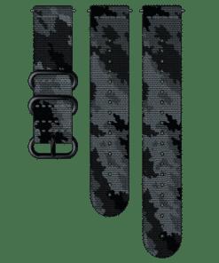 suunto pulksteņa neilona siksniņa explore - concrete black- suunto rezerves daļas