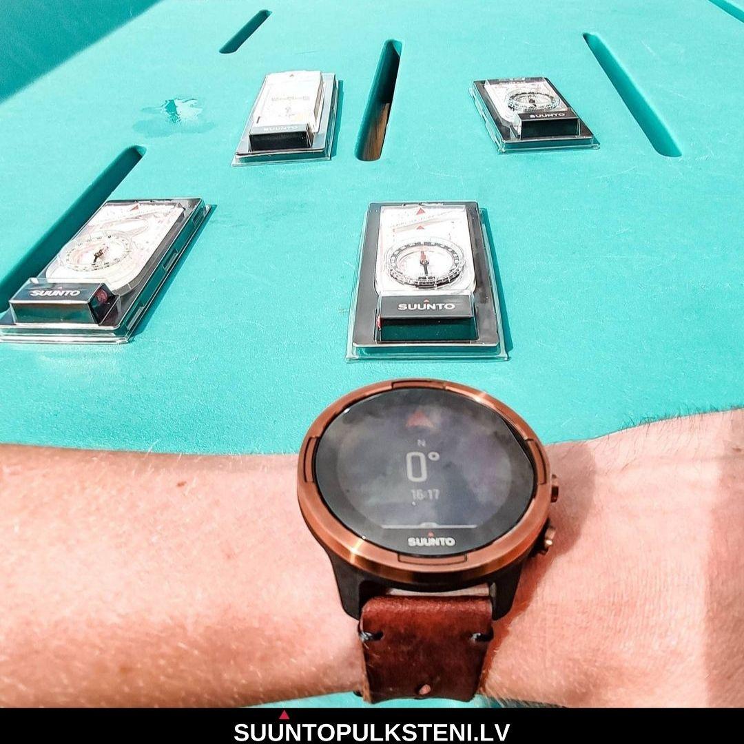suunto 9 baro sporta pulkstenis - digitālais kompass