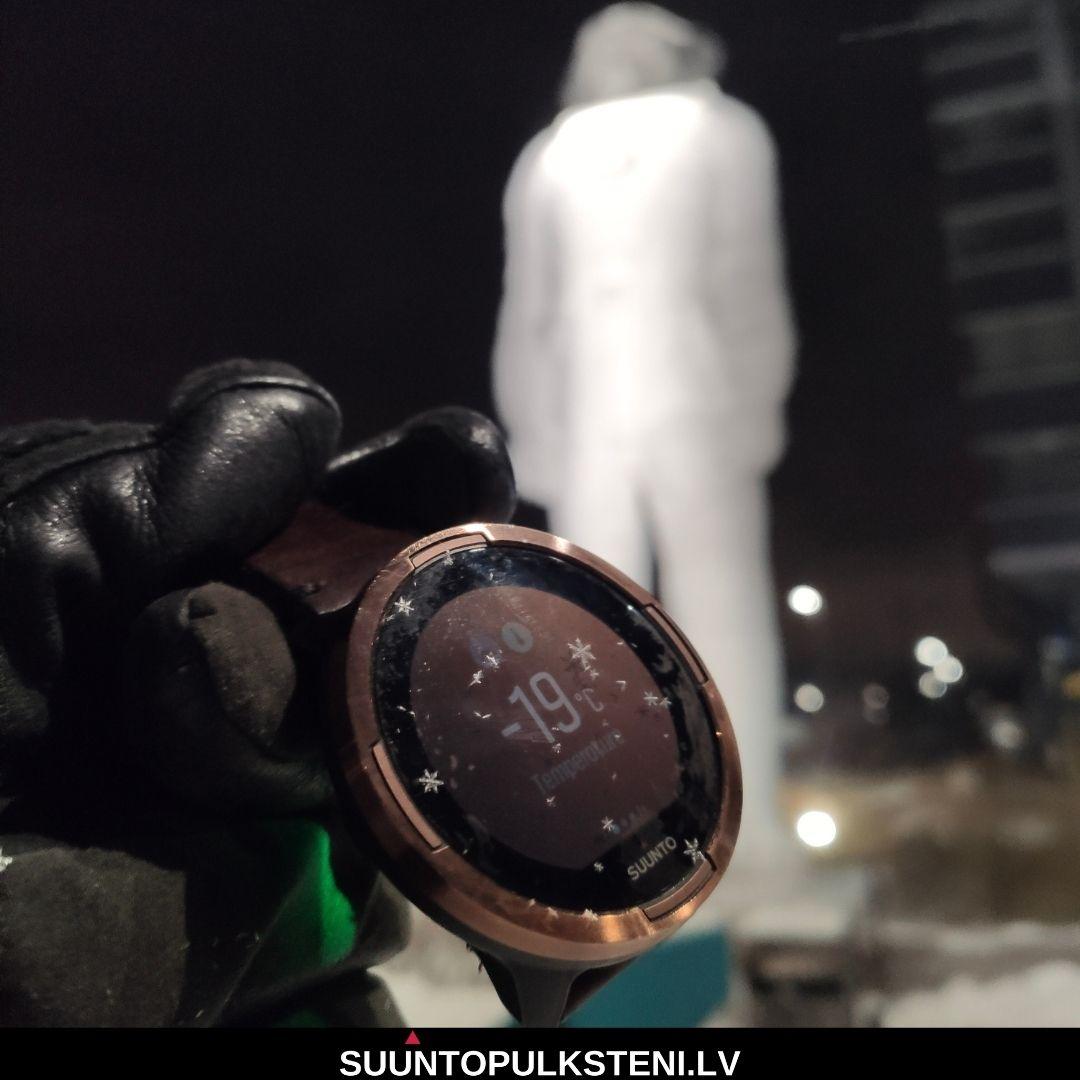 Suunto 9 baro sporta pulkstenis - termometrs