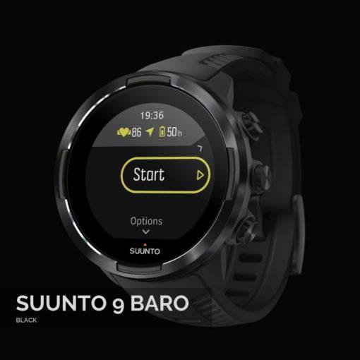 Suunto 9 Baro Black Sporta Pulkstenis