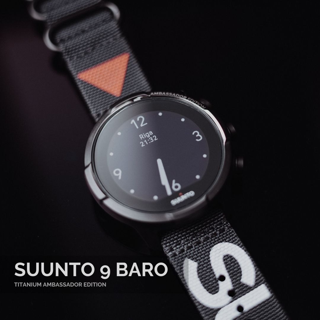 Suunto 9 Baro Titanium Ambassador Edition - Suunopulksteni.lv - 1