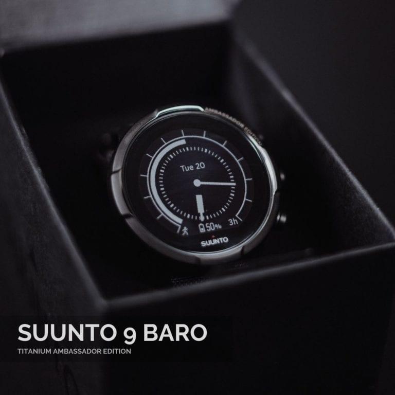 Suunto 9 Baro Titanium Ambassador Vīriešu Rokas Pulkstenis