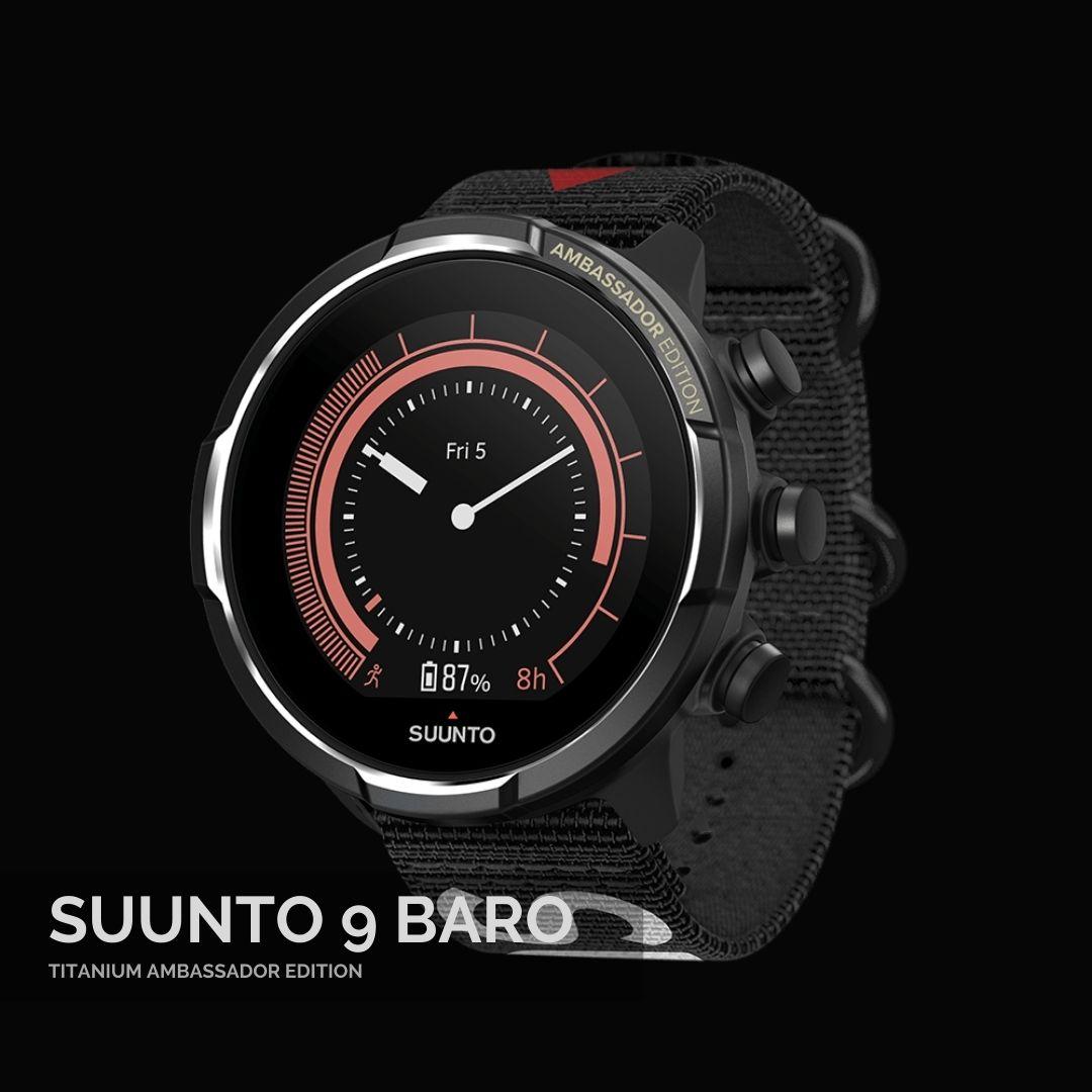 Suunto 9 Baro Titanium Ambassador Sporta Pulkstenis