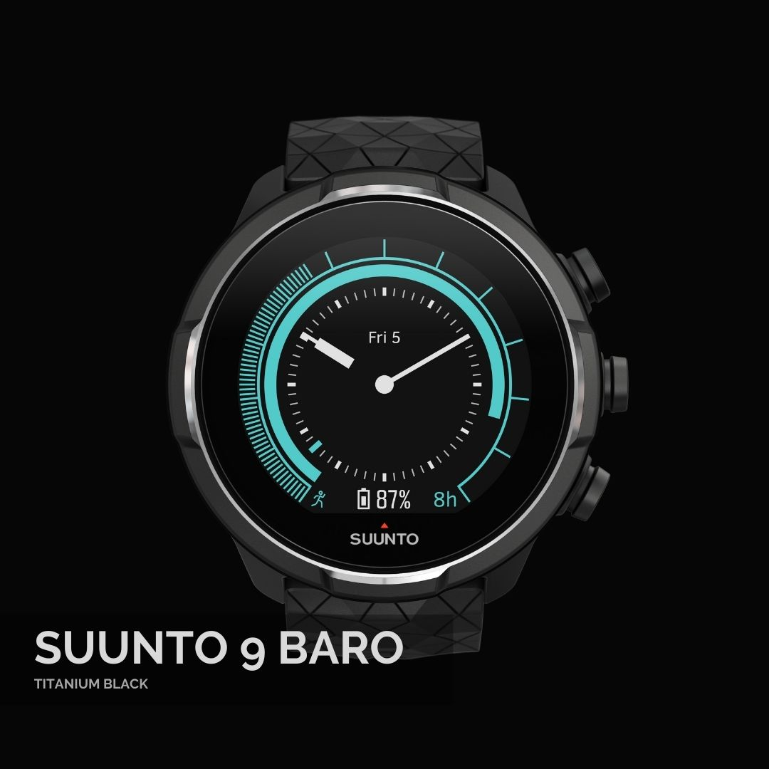 Suunto 9 Baro Titanium Black - Suunopulksteni.lv - 1