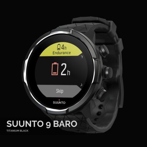 Suunto 9 Baro Titanium Black Sporta Pulkstenis