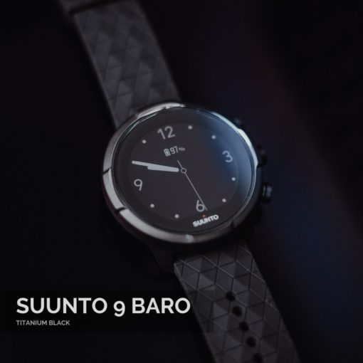 Suunto 9 Baro Titanium Black Vīriešu Rokas Pulkstenis