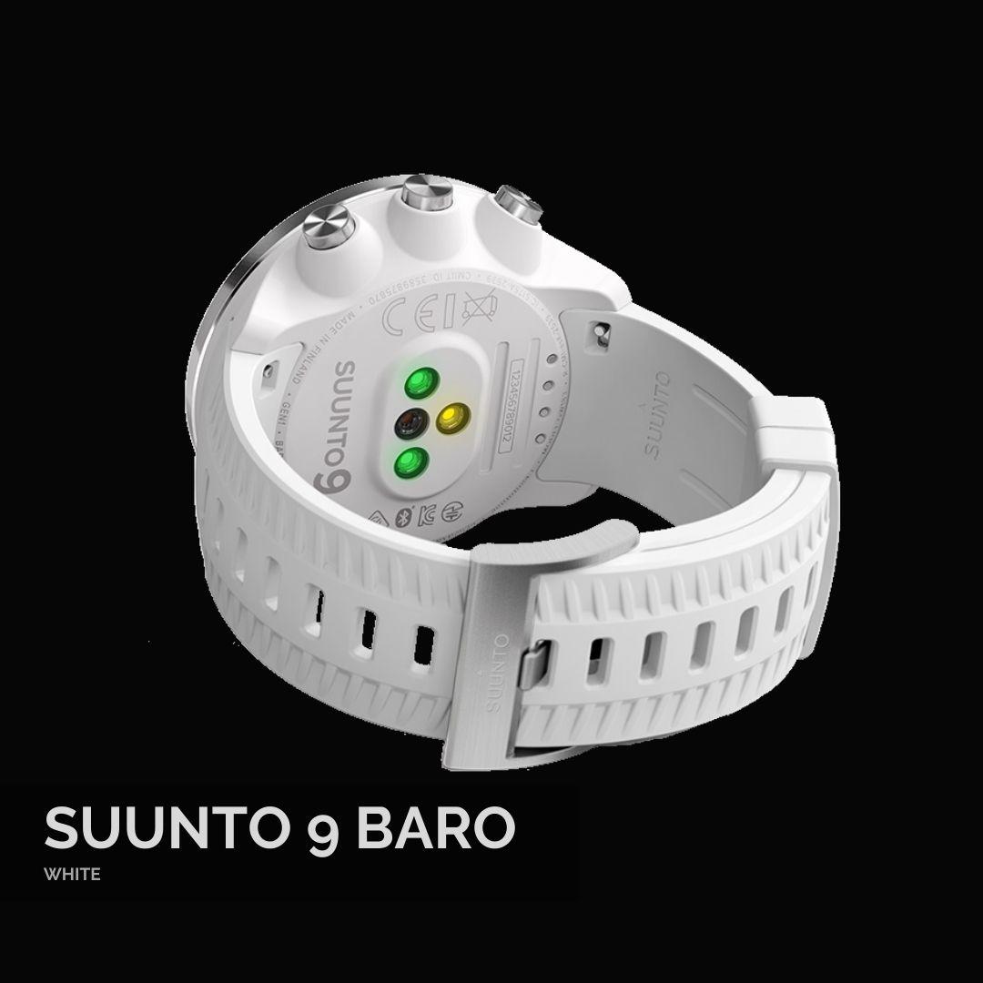 Suunto 9 Baro White Sporta Pulkstenis